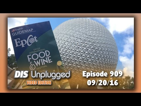 News + Epcot International Food & Wine Festival | 09/20/16