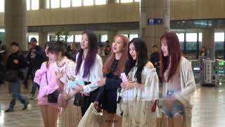 180522 GFRIEND (여자친구) 김포공항 출국 직캠/CAM [4K]