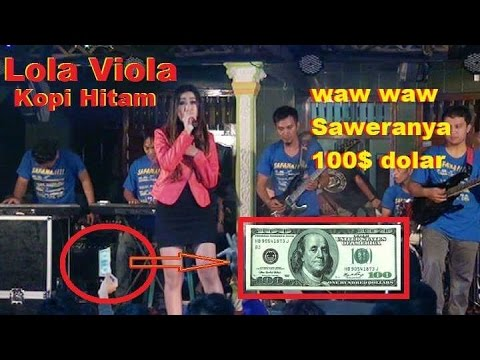 Lola Viola Kopi Hitam Waw Temen Temen Blog Saweranya 100 Dolar Setara 1.300.000 Rupiah
