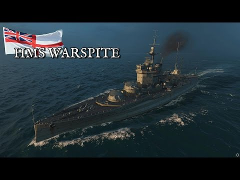 World of Warships - HMS Warspite