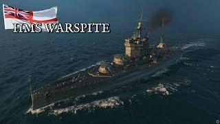 World of Warships - HMS Warspite