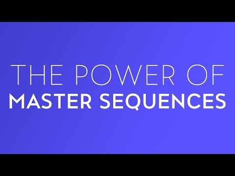 The Power of Master Sequences