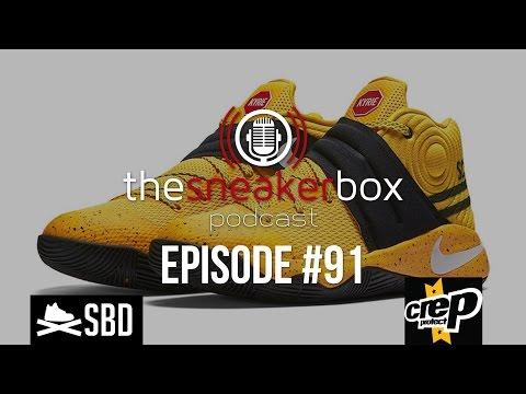 "The Sneaker Box: Episode 91 - Nike Kyrie 2 GS ""School Bus"""