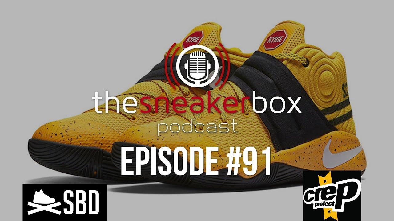 e664f0746e9d The Sneaker Box  Episode 91 - Nike Kyrie 2 GS