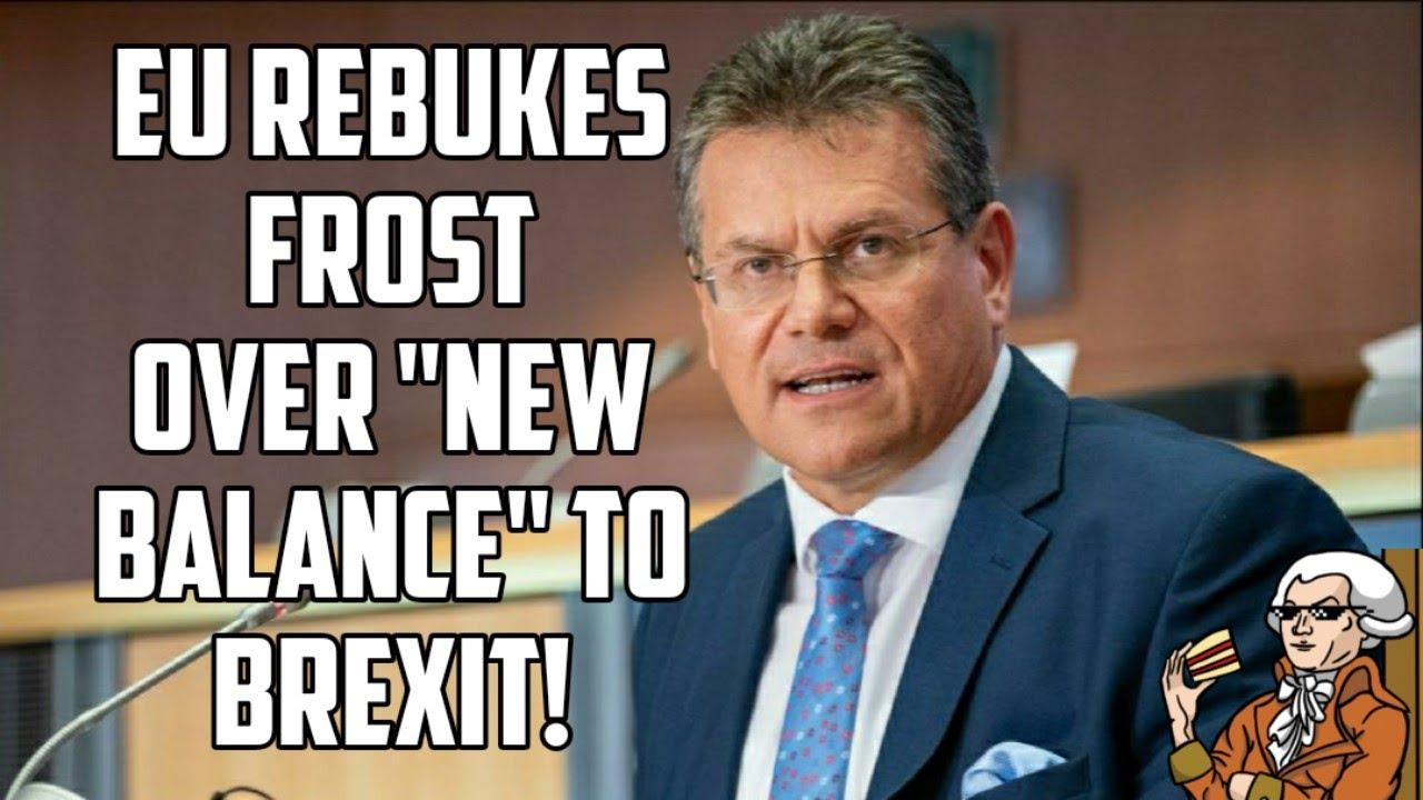 EU Responds To UK Demands To Renegotiate NI Protocol!