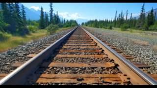 Flat Earth: 1000% Proof - Train Tracks meet on the Horizon, Train Travel is a HOAX!