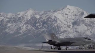 Hill's F-35As Drop Bombs at UTTR