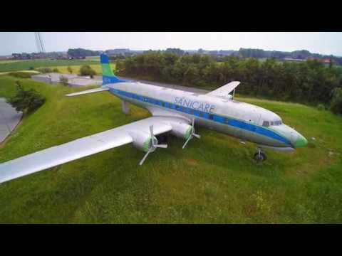 Douglas DC-6 in Bad Laer am 03.06.2017 (UHD 4k)