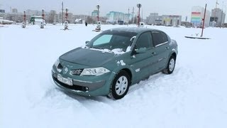 2006 Renault Megane. Start Up, Engine, and In Depth Tour.