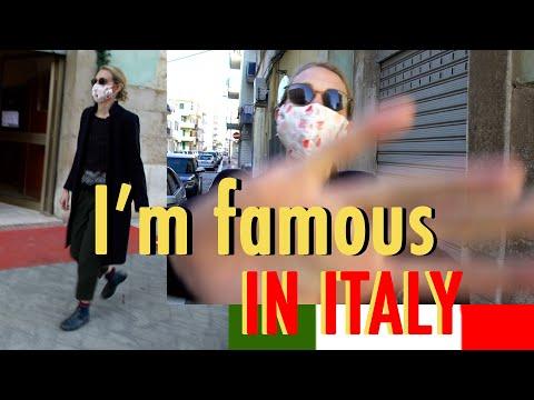 I BECAME AN ITALIAN CELEBRITY