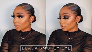 Sultry Black Smokey Eye Tutorial | Tamara Renaye