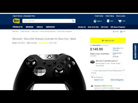 Best Buy Elite Controller Warranty Plan