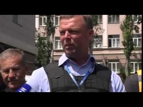 Flight MH17: International monitors 'sick and tired' of not being able to reach crash site - video