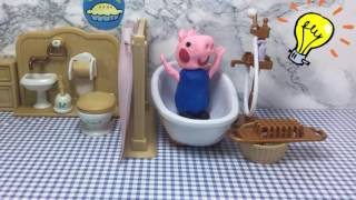 Peppa Pig Compilation Episode No Toilet Paper Potty Training Play Doh Stop Motion