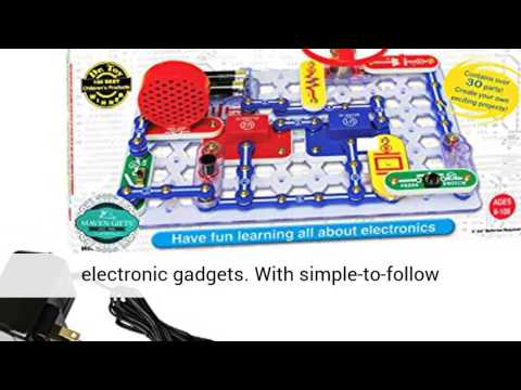 snap circuits jr sc 100 electronics discovery kit review youtube rh youtube com snap circuits jr. sc-100 electronics discovery kit by elenco