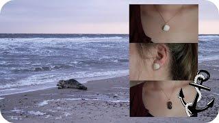 DIY Schmuck aus Strandschätzen (Muscheln, Treibholz,...) Ketten und Ohrringe