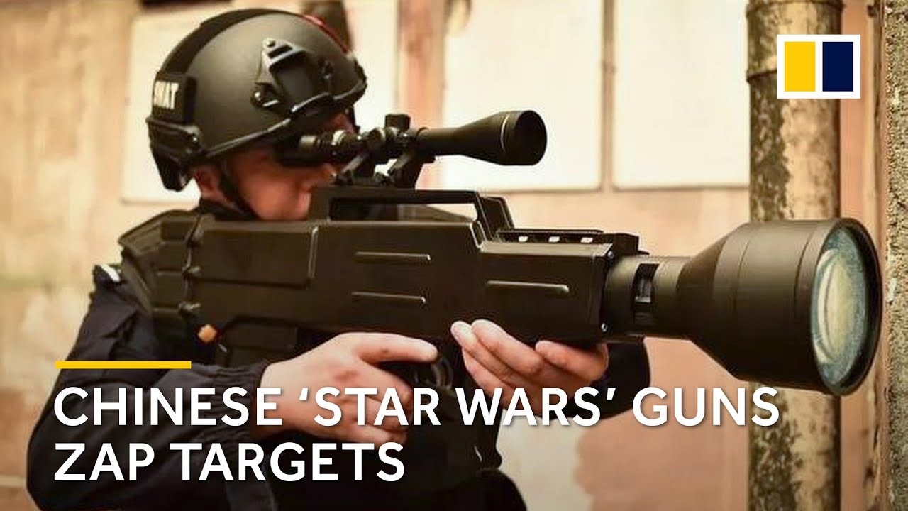 Chinese 'Star Wars' laser gun appears to set fire to objects at a distance