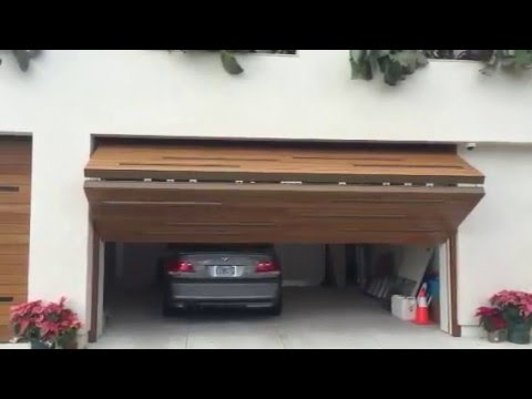 Enzo 2 5 Upward Bi Fold Garage Door Youtube