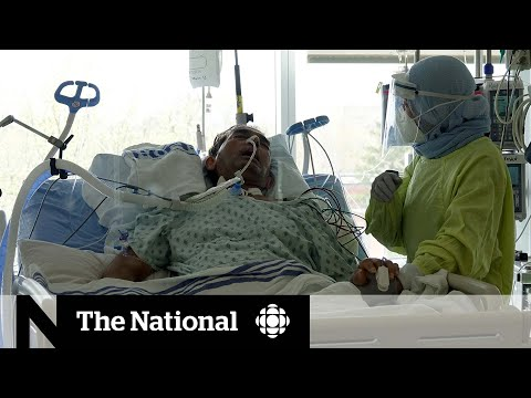 Inside a Montreal ICU where COVID-19 patients are getting younger