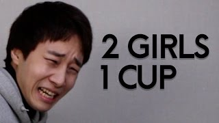 Korean guys react to 2girls 1cup