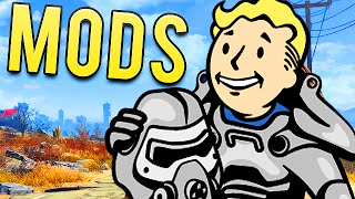 FALLOUT 4 BEST MODS EVER! (Funny Moments)