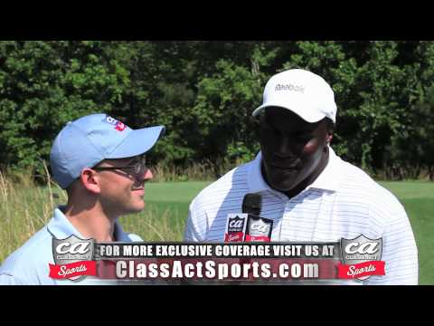 NFL Linebacker Takeo Spikes Exclusive Interview w/ Class Act Sports