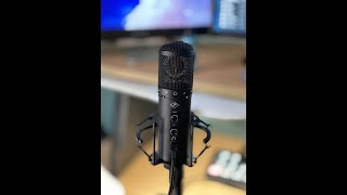 Testing The Axino USB Modeling Mic by Antelope Audio on M1 Silicon