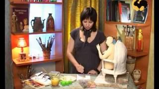 Авторская кукла 5. Роспись лица(, 2012-03-06T15:53:57.000Z)