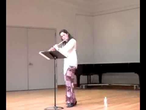 Minas Borboudakis - Aeolian Elegy Katrin Zenz, flute