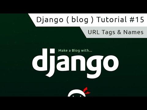 Django Tutorial #15 - Named URL's