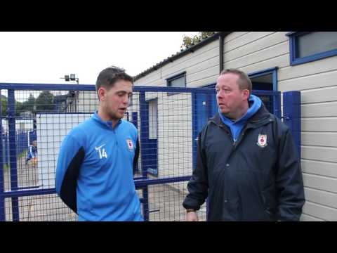 Ben Richardson Player of the month Sept 2016