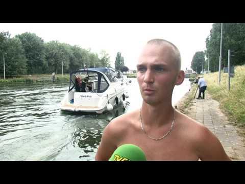 TVEllef: Bootdieven op heterdaad betrapt in sluis Linne