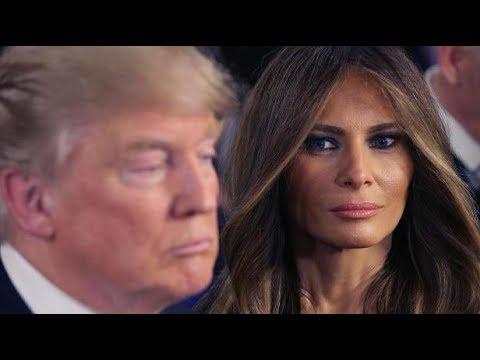 Dieses Video zeigt, dass Melania Donald Trump hasst!