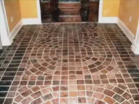 Portstone Brick Flooring - YouTube