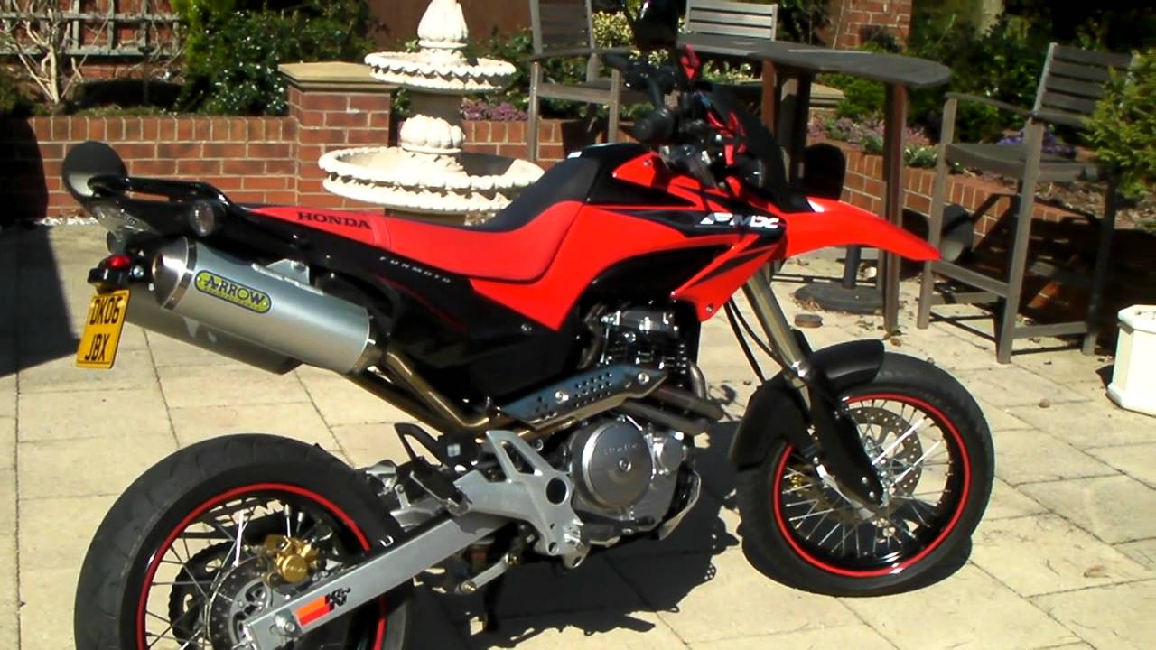 deans honda fmx 650 with arrow race pipes youtube. Black Bedroom Furniture Sets. Home Design Ideas