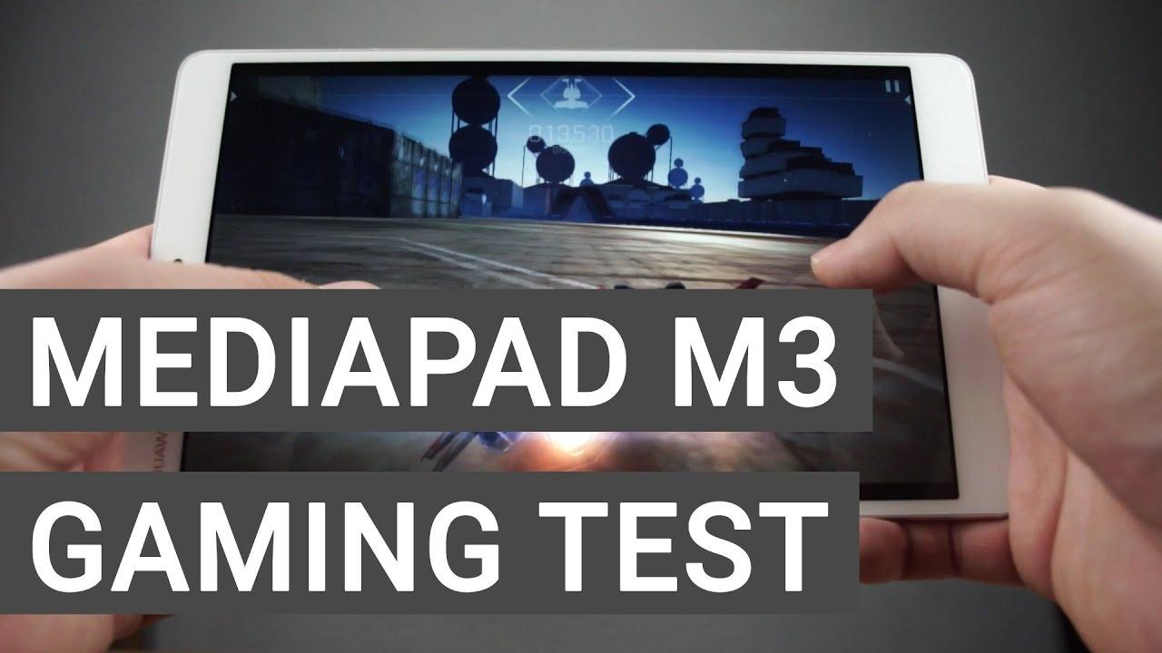 Huawei MediaPad M3 8 4 Gaming Test Videos - Waoweo