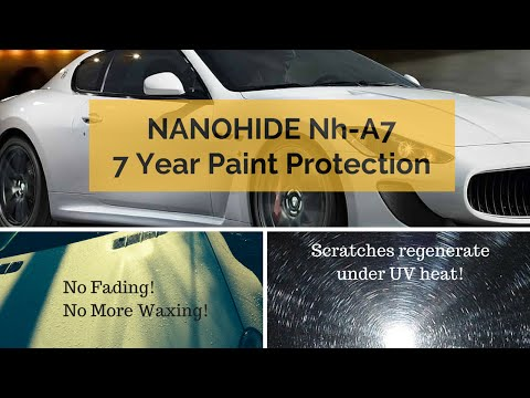 Nanohide Nh-A7 Automotive Paint Sealant w/ Regenerative Properties