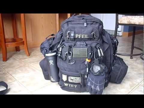 My 5.11 Rush 72 Urban EDC/72 hour Pack