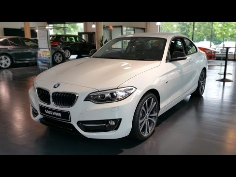 2015 bmw 220d coup sport line youtube. Black Bedroom Furniture Sets. Home Design Ideas