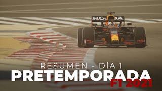 Resumen Día 1 - Pretemporada F1 2021 | Efeuno
