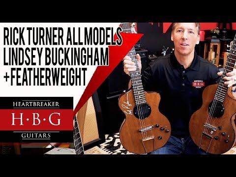 Rick Turner Model 1 Guitar All The Different Models