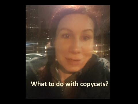 CopyCat Syndrome: What to do when someone steals your ideas?