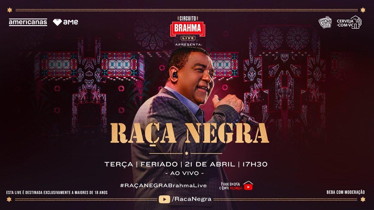 Live Raça Negra e Amigos em Casa   #FiqueEmCasa   Raça Negra Ao Vivo