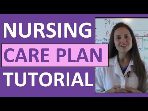 Nursing Care Plan Tutorial | How to Complete a Care Plan in Nursing School