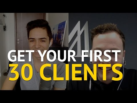 How to get your first 30 clients with Travis Causey