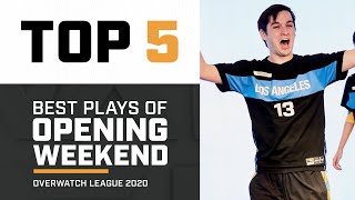 Best Plays of Opening Weekend | Overwatch League 2020