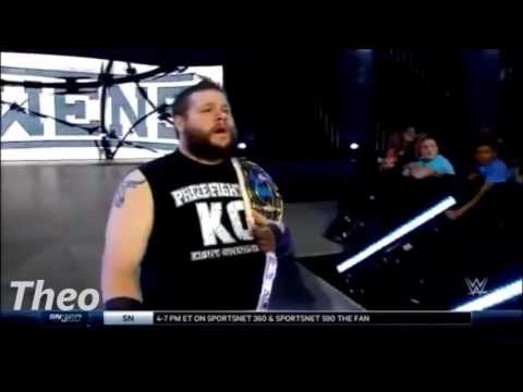 WWE Kevin Owens entrance in SmackDown 24/3/16