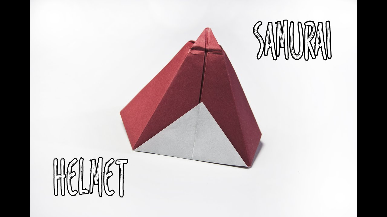 How to make an origami samurai hat | Paper Helmet - YouTube - photo#30