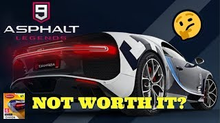 HERE'S WHY ASPHALT 9'S BEST CAR IS NOT WORTH IT *Bugatti Chiron Review*