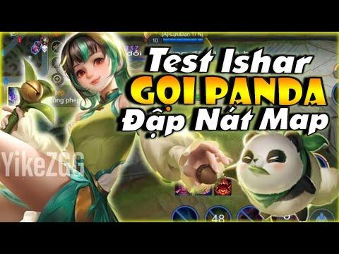 Hào Gaming | Test Trang Phục Mới - Ishar • Tiểu Thư Gấu Trúc